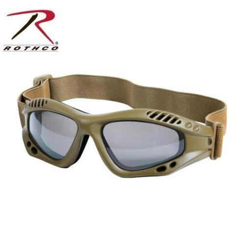 Rothco Ventec Tactical Goggles Coyote Brown