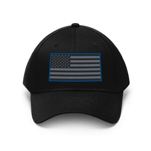 Embroidered Police Supporter Cap