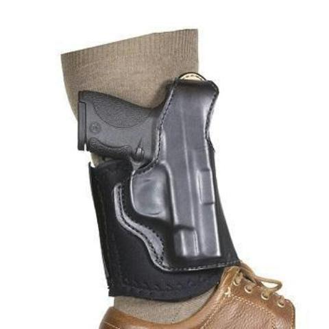 DeSantis RH Black Die Hard Ankle Rig-SandW Bodyguard 380-Tactical Shop-DeSantis-
