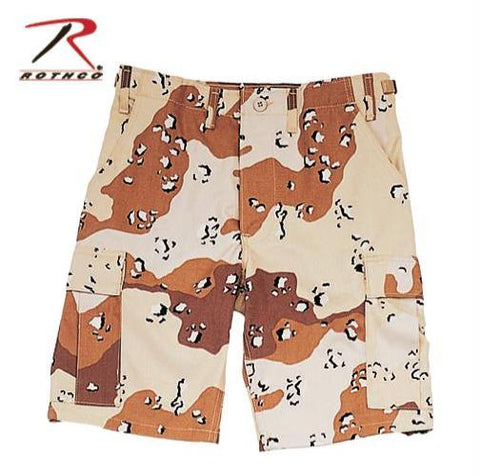 Camo BDU Shorts (Multiple Patterns)