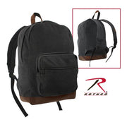 Rothco Vintage Canvas Teardrop Backpack With Leather Accents