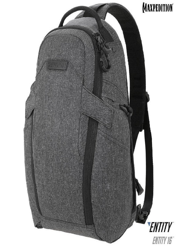 best tactical Maxpedition Entity 16 CCW-Enabled EDC SlingPack 16L Charcoal