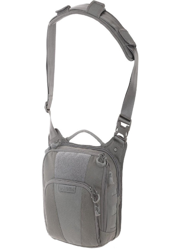 best tactical Maxpedition Lochspyr Crossbody Shoulder Bag 5.5L Gray