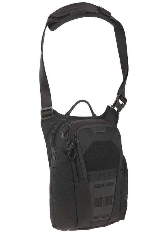 best tactical Maxpedition Veldspar Crossbody Shoulder Bag 8L Black