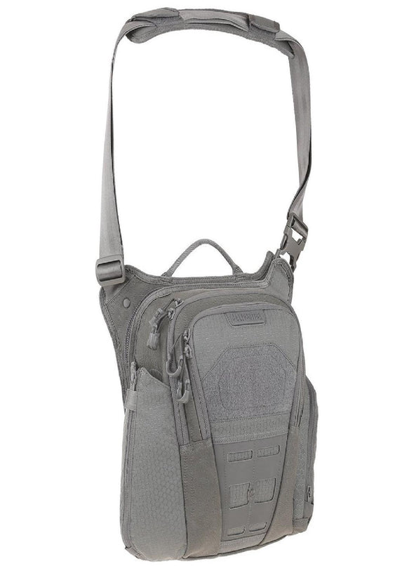 best tactical Maxpedition Veldspar Crossbody Shoulder Bag 8L Gray