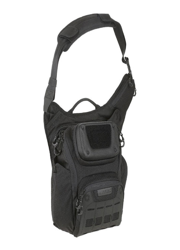 best tactical Maxpedition Wolfspur Crossbody Shoulder Bag 11L Black
