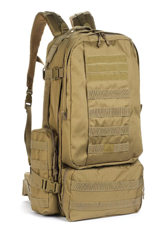best tactical Red Rock Diplomat Backpack - Coyote