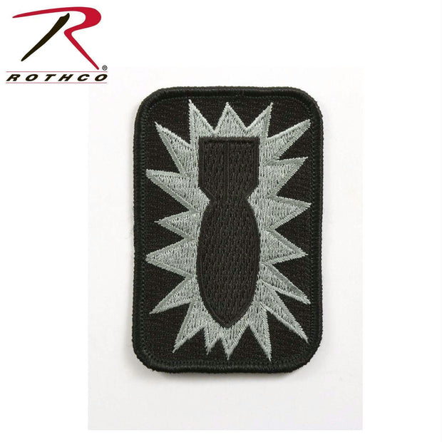 tactical and military Rothco 52nd Ordnance Group Bomb Morale Patch