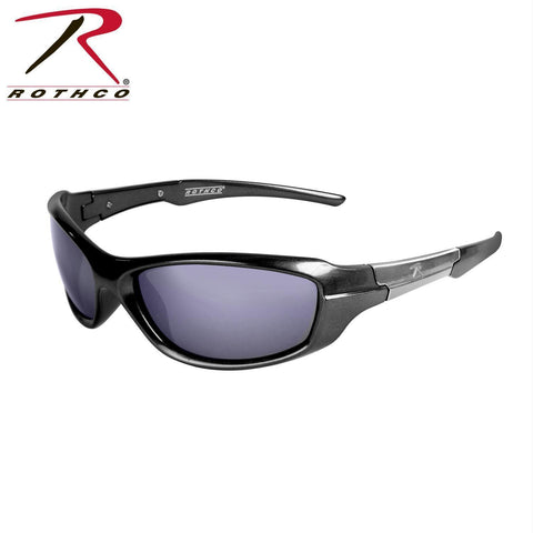 best tactical and police Rothco 9MM Sunglasses Black / Smoke
