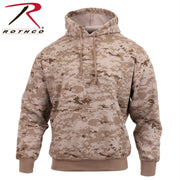 Rothco Camo Pullover Hooded Sweatshirt Desert Digital Camo 3XL