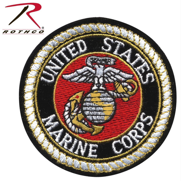 tactical and military Rothco Deluxe USMC Round Patch