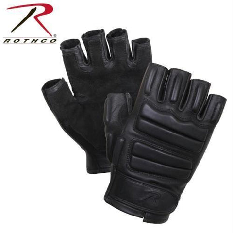 Rothco Fingerless Padded Tactical Gloves Black XL