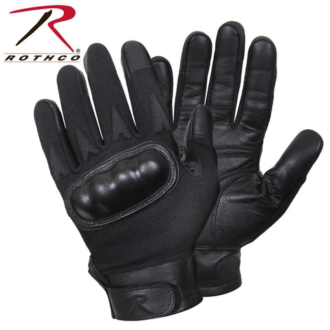 Rothco Hard Knuckle Cut and Fire Resistant Gloves Black M