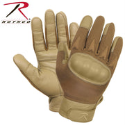 Rothco Hard Knuckle Cut and Fire Resistant Gloves Coyote Brown S
