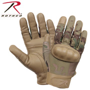 Rothco Hard Knuckle Cut and Fire Resistant Gloves MultiCam S