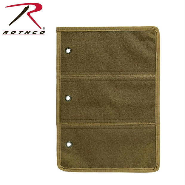 tactical and military Rothco Hook and Loop Morale Patch Book Page Coyote Brown