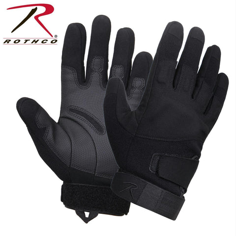 Rothco Low Profile Padded Gloves Black S