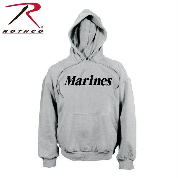 Rothco Marines Pullover Hooded Sweatshirt Grey 2XL