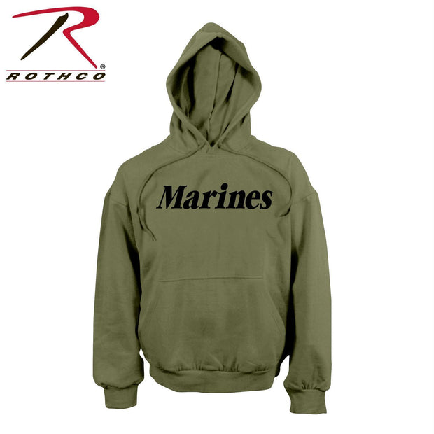 Rothco Marines Pullover Hooded Sweatshirt Olive Drab 2XL