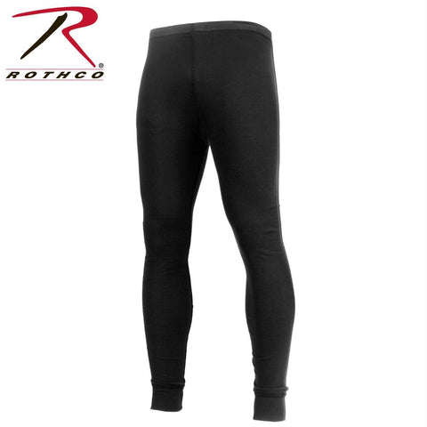 Rothco Midweight Thermal Knit Bottom Black 3XL