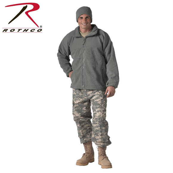 best Rothco Military ECWCS Polar Fleece Jacket/Liner Foliage Green L