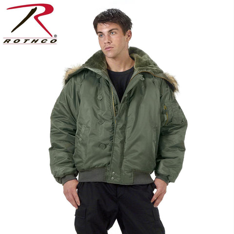 best Rothco N-2B Flight Jacket Sage Green S