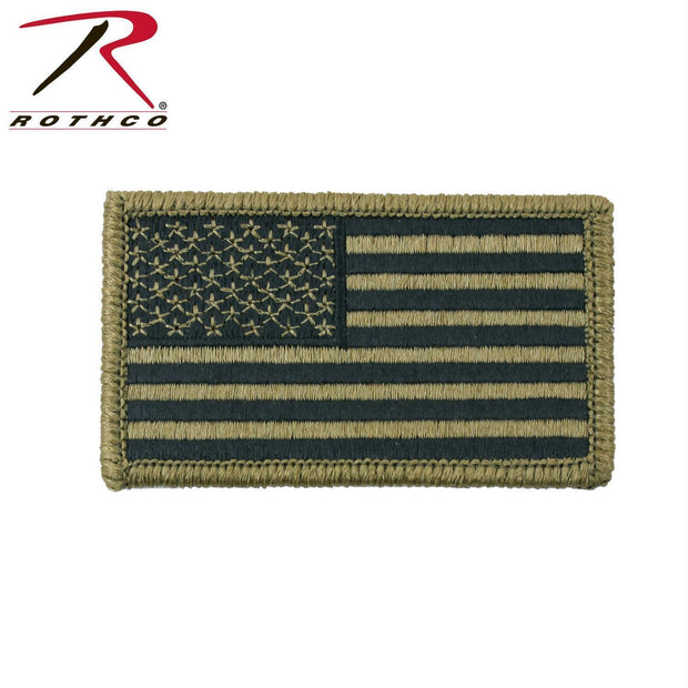 tactical and military Rothco OCP American Flag Patch With Hook Back