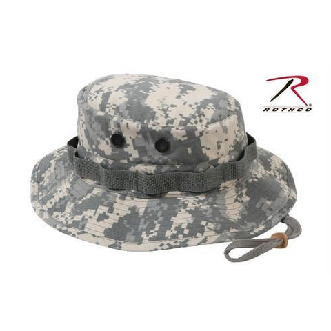 Rothco Poly/Cotton Rip-Stop Boonie Hat ACU Digital Camo 7 3/4