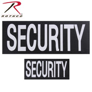 tactical and military Rothco Security Patch Set