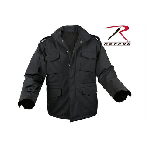 best Rothco Soft Shell Tactical M-65 Field Jacket Black 2XL