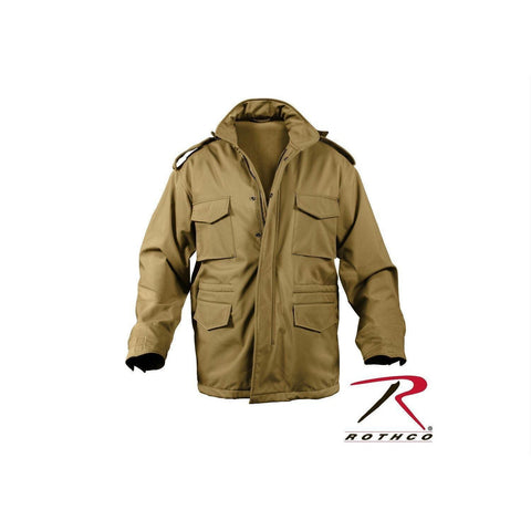 best Rothco Soft Shell Tactical M-65 Field Jacket Coyote Brown 2XL