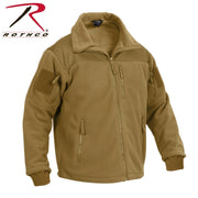 best Rothco Spec Ops Tactical Fleece Jacket Coyote Brown 2XL