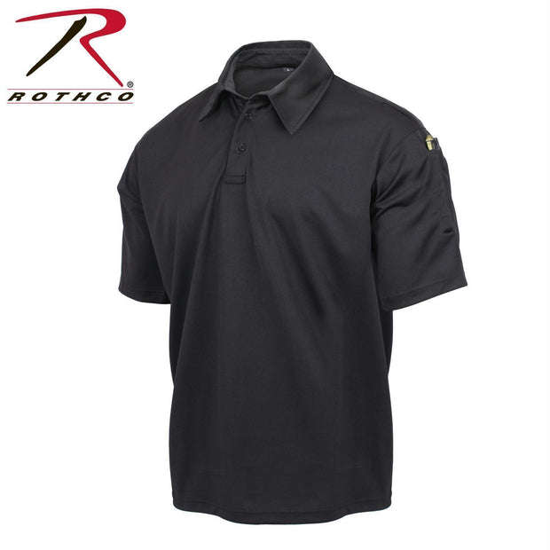 best Rothco Tactical Performance Polo Shirt Black 4XL