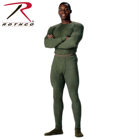Rothco Thermal Knit Underwear Bottoms Olive Drab L