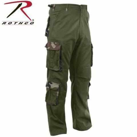 Rothco Vintage Accent Paratrooper Fatigues Olive Drab S