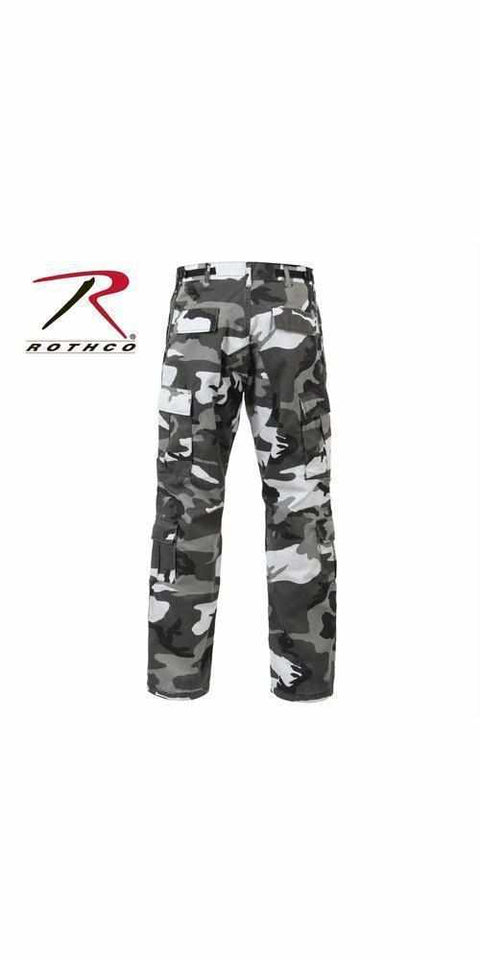 Rothco Vintage Camo Paratrooper Fatigue Pants City Camo M
