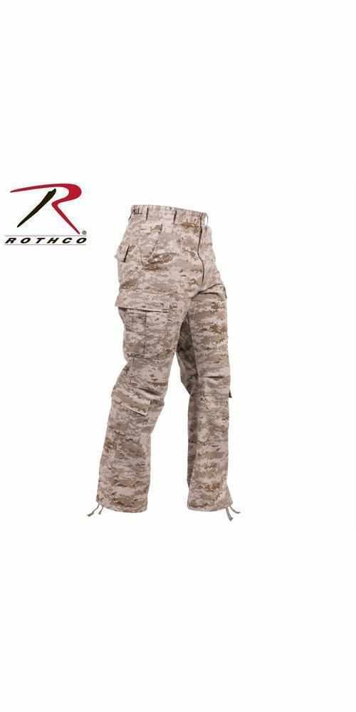 Rothco Vintage Camo Paratrooper Fatigue Pants Desert Digital Camo 3XL