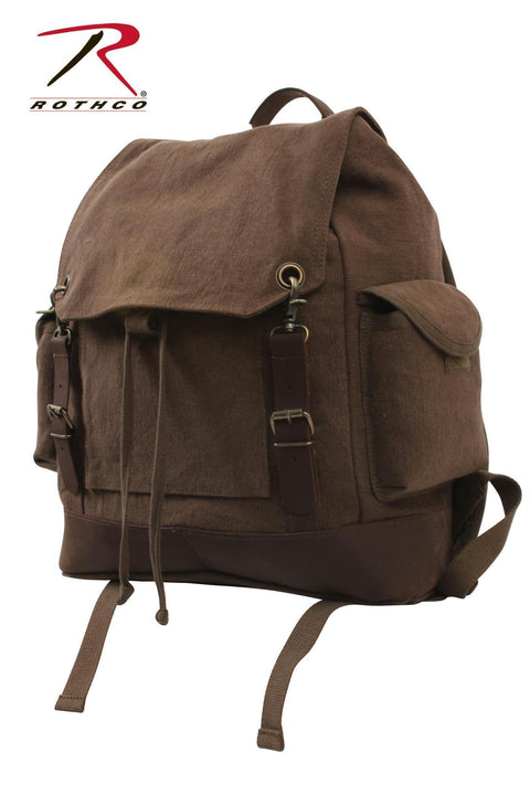 Rothco Vintage Expedition Rucksack Brown