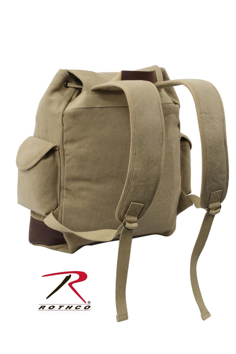 Rothco Vintage Expedition Rucksack Khaki