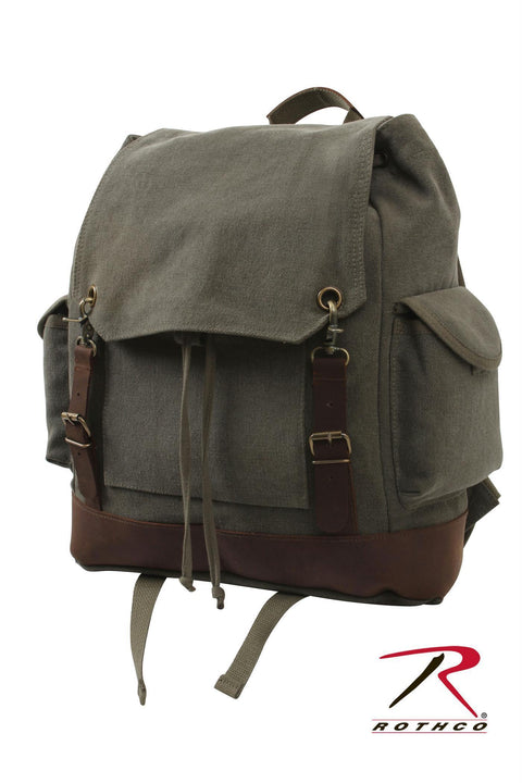 Rothco Vintage Expedition Rucksack Olive Drab