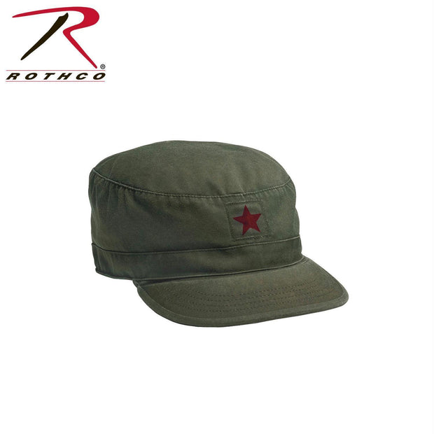 Rothco Vintage Fatigue Cap w/ Red Star L