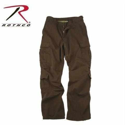 Rothco Vintage Paratrooper Fatigue Pants Brown S