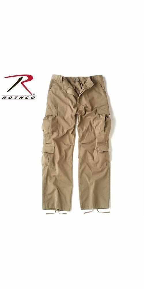 Rothco Vintage Paratrooper Fatigue Pants Khaki L