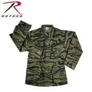 Rothco Vintage Vietnam Fatigue Shirt Rip-Stop Tiger Stripe Camo 3XL