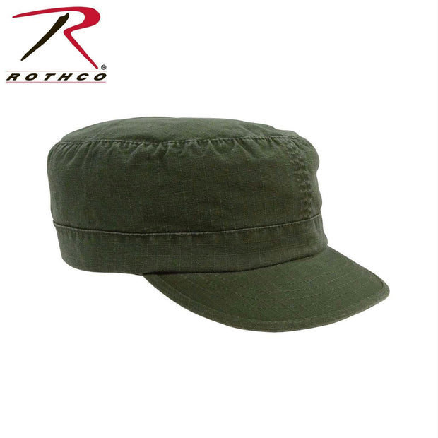Rothco Women's Adjustable Vintage Fatigue Caps Olive Drab