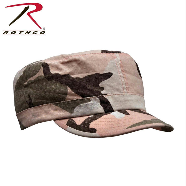 Rothco Women's Adjustable Vintage Fatigue Caps Pink Camo
