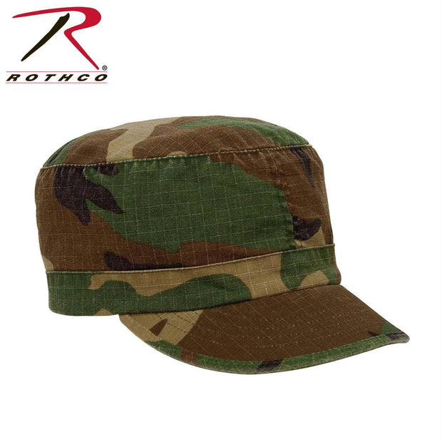 Rothco Women's Adjustable Vintage Fatigue Caps Woodland Camo