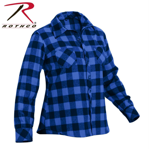 Rothco Womens Plaid Flannel Shirt