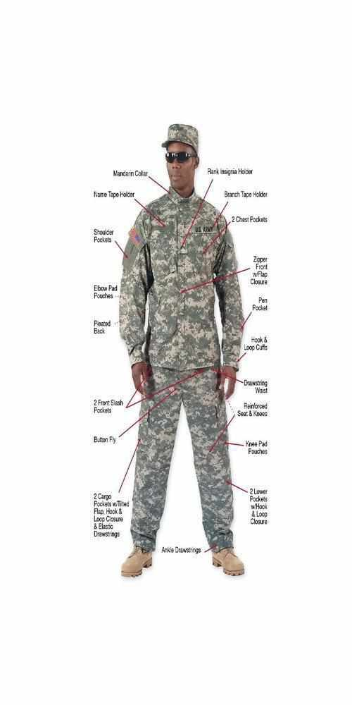 best-Rothco Army Combat Uniform Pants-