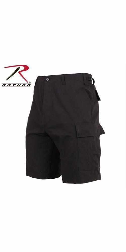 best-Rothco Rip-Stop BDU Shorts-Black-2XL-